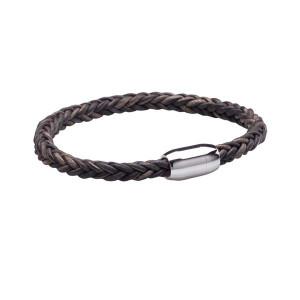 Walton Designs Twinner Dark Grey Gents Bracelet