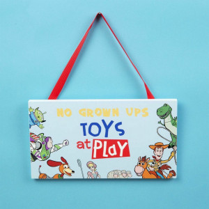 DISNEY TOY STORY 4 TOYS AT PLAY PLAQUE DI626