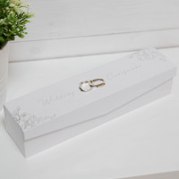 AMORE BY JULIANA® FOIL EMBOSSED WEDDING CERTIFICATE HOLDER AM143