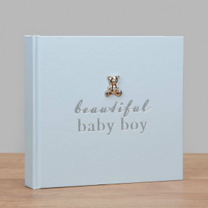 BAMBINO BY JULIANA® PHOTO ALBUM - BEAUTIFUL BABY BOY CG1018