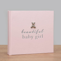 BAMBINO BY JULIANA® PHOTO ALBUM - BEAUTIFUL BABY GIRL CG1019