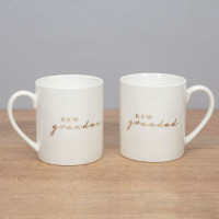 Bambino Gift Set - New Grandma & Grandad~ Two Ceramic Mug Sets