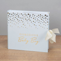 "Bambino CG515 Little Stars Photo Album Baby Boy 4"" x 6"""