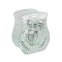 HESTIA® GLASS TEALIGHT HOLDER - OWL HE588
