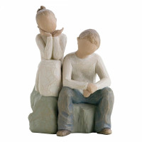 Brother and Sister, Willow Tree Figurine
