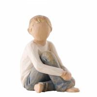 Caring Child, Willow Tree Figurine