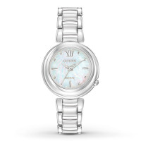 Citizen Ladies Eco-Drive Bracelet Wr50 Watch EM0330-55D