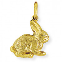 9ct Gold Rabbit Charm