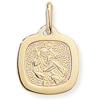 9ct Gold St Christopher