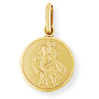 9ct Gold St.Christopher