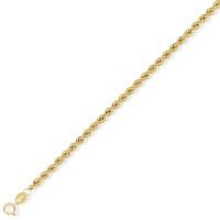 9ct Yellow Gold  Rope Chain