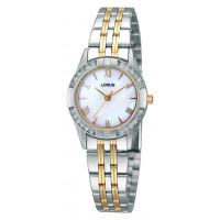 Lorus Ladies Two Tone Bracelet Watch