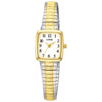 Lorus T/T Rectangular Expanding Ladies Watch