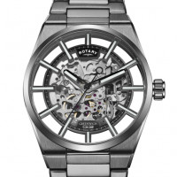 Rotary Greenwich G3 Titanium Plated Automatic Watch GB05215/04