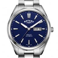 Rotary Gents Bracelet Serrated Bezel Henley GB05380/05