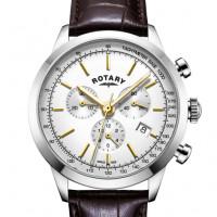 Rotary White Cambridge Gents Chronograph Quartz GS05253/02