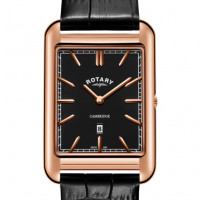 Rotary Cambridge Shaped Strap Watch GS05284/04