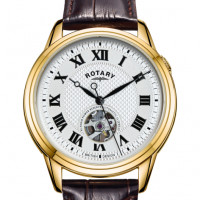 Rotary Gents Gold PVD Automatic Watch GS05368/70