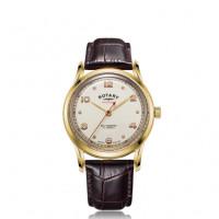 Rotary Henley Black Stainless Steel Quartz Watch GB05108/04