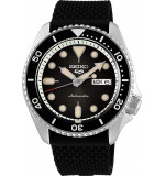 Seiko Men's Analogue Automatic Watch with Silicone Strap SRPD73K2
