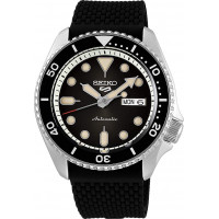 Seiko 5 Sports Men's Analogue Automatic Strap Watch SRPD73K2