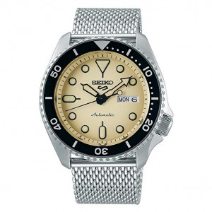 Seiko Men's Analogue Automatic Watch with Stainless Steel Strap SRPD67K1