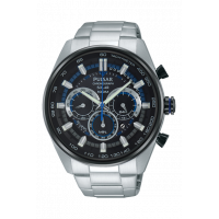 Pulsar Gents Solar Chrono Bracelet Watch PX5019