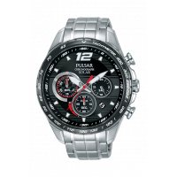 Pulsar Gents Chronograph Solar Bracelet Watch PZ5019