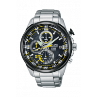 Pulsar Gents Chronograph Solar Bracelet Watch PZ6003