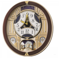 Seiko Clocks Musical Marionette Wall Clock QXM356B