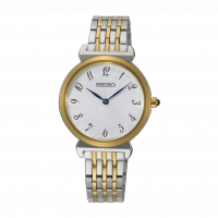 Seiko Ladies Two Tone Bracelet Watch SFQ800P1