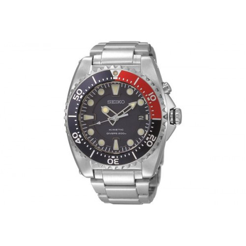 Seiko Prospex Kinetic Divers Watch With Pepsi Bezel Ska759p1