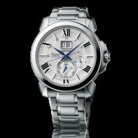 Seiko Gents Premier Kinetic Perpetual Bracelet Watch SNP139P1