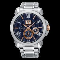 Seiko Premier Kinetic Bracelet Watch SNP153P1