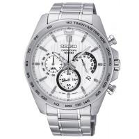 Seiko Gents Chronograph Bracelet Watch SSB297P1
