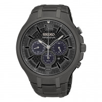 Seiko Gents Solar Chronograph Bracelet Watch SSC453P1