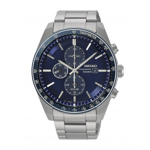 Seiko Gents Chronograph Bracelet Watch SSC719P1