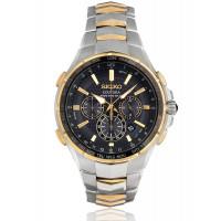 Seiko Coutura Solar Two Tone Bracelet Watch SSG010P9