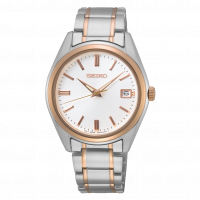 Seiko ladies Mid-Size Two Tone Quartz Watch SUR322P1