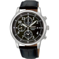 Seiko Chronograph Gents Strap Watch SNDC33P1