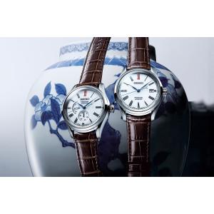 Seiko Presage Arita Porcelain Automatic Multi-Dial Watch SPB093J1