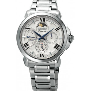 Seiko Premier Kinetic Bracelet Watch SRX015P1