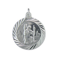 Silver Large St Christopher
