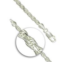 Silver Rope Bracelet