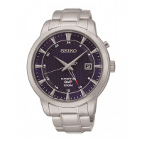 Seiko Kinetic GMT Bracelet Watch SUN031P1